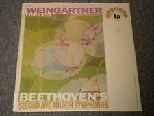 Weingartner Conducts Beethoven's Second and Fourth Symphonies~FAST SHIPPING!!