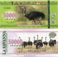 ALABA ELOBEY GRANDE 50000 50,000 EKUELE 2016 BIRD FANTASY