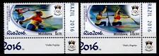 Olympische Sommerspiele 2016, Rio de Janeiro. 2W. Eckrand(2). Moldawien 2016