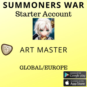 Summoners War Light Art Master Hanwul Starter Account