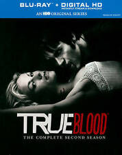 True Blood: The Complete Second Season (Blu-ray + Digital HD, 2014, 5-Disc Set)