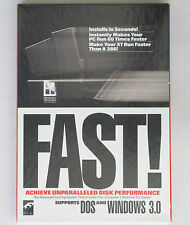 """FAST Disk Caching Software for DOS and Windows 3.0, 5-1/4"""" Floppy Disks"""