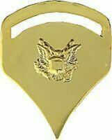 ARMY SPECIALIST 5TH CLASS GOLD MILITARY RANK SPEC 5 PIN