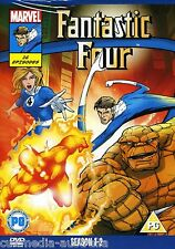 FANTASTIC FOUR (1994) ULTIMATE COMPLETE ANIMATED SERIES SEASON 1 + 2  NEW 4 DVD