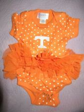 nwot U of Tennessee orange tutu snap bottom romper baby girl 12 m free ship Usa