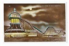Big Dipper Pleasure Beach Blackpool Illuminations RP Postcard Allen & Sons