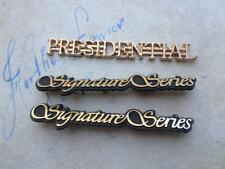 96-99 Lincoln Signature Series Presidential Logo F7VB-16B114-BB Emblem Decal Set