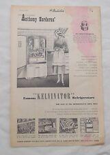 Kelvinator Refrigerator Full Page Advertisement from a 1950 Newspaper Fridge