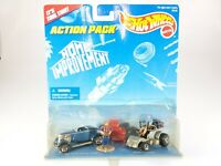 Hot Wheels Home Improvement Action Pack Set '33 Ford Convertible & Dixie Chopper