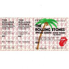 THE ROLLING STONES Concert Ticket Stub NICE FRANCE 6/13/76 BLACK AND BLUE TOUR