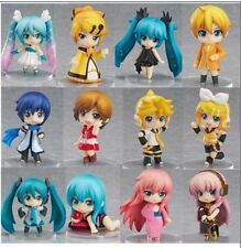 New Vocaloid Miku Hatsune anime Rin Luka set of 12 pcs Figures Dolls Girl's
