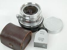 Leitz Leica M Super-Angulon 4/21mm Nr. 1604417 + Metall Su. Finder 21mm TOP