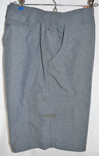 Field & Stream Outdoors Shorts Hiking Gray Polyester Flat Front Men's XL 40-42