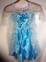 Disney Princess Elsa Costume (4-6) Youth Frozen Halloween Dress Up Fantasy Play