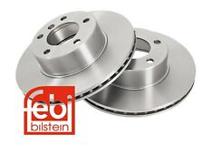FEBI BILSTEIN Front Set of 2x Brake Disc for BMW 5 Series
