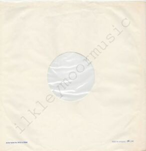 """Vintage INNER SLEEVE or SLEEVES 12"""" POLYDOR lined v02 MADE IN ENGLAND rhs x 1"""