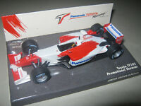 1:43 TOYOTA TF102 F1 Showcar 2002 400020174 MINICHAMPS OVP NEU