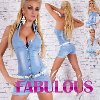 Womens Jeans Overalls Size 10 12 14 6 8 XS S M L XL Denim Jumpsuits Hot Rompers