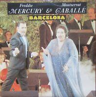 FREDDIE MERCURY & MONTSERRAT GABALLE Barcelona Polydor POSP 887 1987