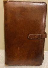 "Vintage COACH Leather Organizer Address Book 5"" X 7 1/2 Inches"