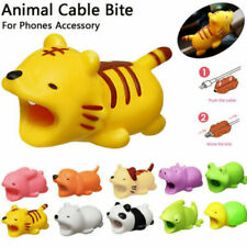 USB Cable Protector Wire Animal Bite Charger Saver For iPhone Android LOT UK