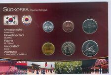 Südkorea Kursmünzensatz aus 1983-2012, gemischt