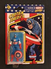 CAPTAIN AMERICA RETRO Hasbro Kenner Marvel Legends  3.75? Figure In Hand!