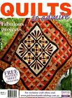 QUILTS TO ADMIRE MAGAZINE 2015. PATTERN SHEET ATTACHED.