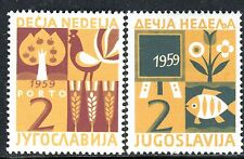 885 - Yugoslavia 1959 - Children`s Week - MNH Set