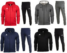 Adidas Core 18 Mens full zip tracksuit Hoodie Top Bottoms Pants Training