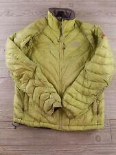 Womens North Face Insulated jacket Pertex Quantum Summit Series green medium E69