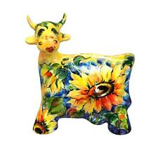 Cow - Turov Art, Turov Ceramics statuette, figurine, Russia
