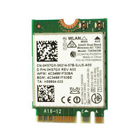 Intel 7265AC 867m WiFi WLAN Card BT4.0 for DELL E7470 E7270 E7440 XPS12 13 15 18