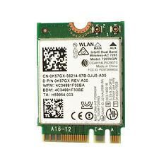 Intel 7265AC 867m WiFi WLAN Card BT4.0 for DELL E7470 E7270 E7440 XPS12 13 15 18