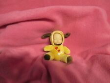 "MINIATURE BUNDLE BABY PUPPY DREAMS 4"" PLUSH STUFFED DOLL KEEPSAKE GIFT LOVEWRAPS"