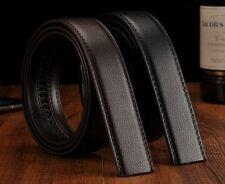"New-Belt's Genuine Leather Black/Brown Auto/Pin Lock W30""-54"" Length100-160cm"