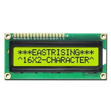 Display LCD 16x2 1602 Retroilluminazione Giallo HD44780 Modulo Arduino DIY