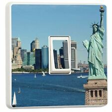Liberty Statue New York Single Light Switch Sticker vinyl cover skin by stika.co