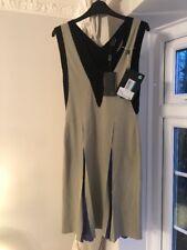 Fendi Vestito Abito Senza Maniche IT40 UK8 Shift Dress Aderente FENDI Abito Da Cocktail