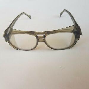 Vintage Aerosite Z87 Safety Glasses - Side Shields - American Optical - 5 3/4