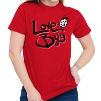Love Bug Valentines Day Cute Couple Dating Date Heart T Shirt Tee