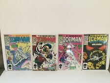 ICEMAN #1-4 1984 MARVEL COMICS FULL COMPLETE SET 1ST APPEARANCE OBLIVION VF Lot