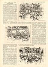 1896 ANTIQUE PRINT-ARTICLE-A GREAT INTERNATIONAL CYCLE AMALGAMATION