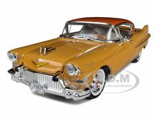 1957 CADILLAC SERIES 62 YELLOW 1/32 DIECAST MODEL BY SIGNATURE MODELS 32359