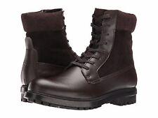 Men's Calvin Klein Gable Boot Dark Brown Leather SZ 10.5 MSRP 165$