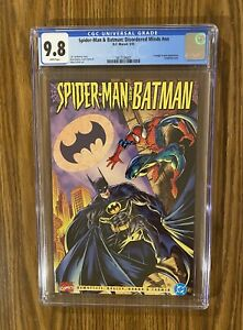 SPIDER-MAN & BATMAN: DISORDERED MINDS #NN CGC 9.8 White Pages ! 🔥 🔑 🔥