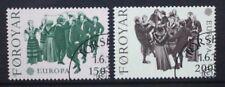 FAROE ISLANDS 1981 Europa Dance. Set of 2. Fine USED. SG62/63.