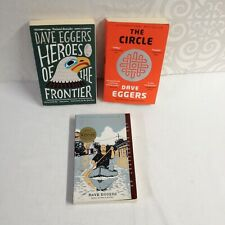LOT OF 3 PB - DAVE EGGERS - ZEITOUN, THE CIRCLE & HEROES OF THE FRONTIER
