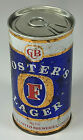 Vintage XL Foster's Lager Beer 25oz 740ml Straight Steel Can Melbourne Australia