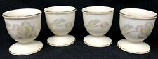 SET OF 4 VINTAGE 1953 – 1956 THOMAS ROSENTHAL GERMANY PORCELAIN EGG CUPS SERVERS